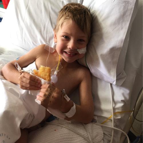 Harry in Hospital